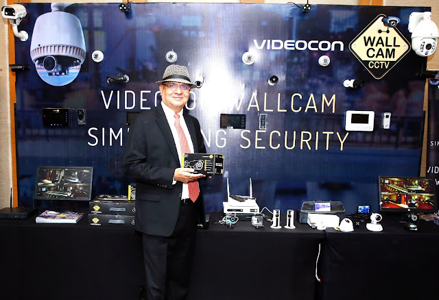 VIDEOCON WALLCAM SHOWCASES ITS RANGE OF VIDEO SURVEILLANCE PRODUCTS. TALKS ABOUT ITS PLANS IN UPPER NORTH REGION