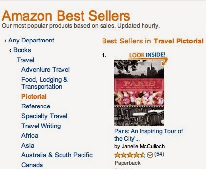 AMAZON NO 1 BESTSELLER IN TRAVEL