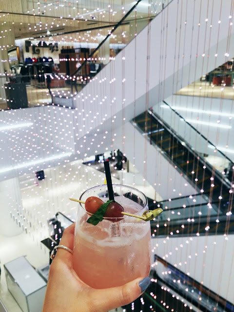 Nordstrom Toronto Eaton Center Yorkdale Lights Drinks Bar