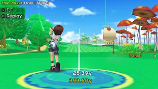 Game Pangya: Fantasy Golf PPSSPP