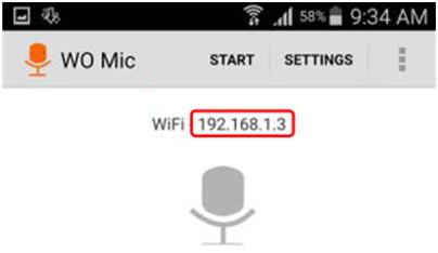 cara membuat hp Android menjadi microphone