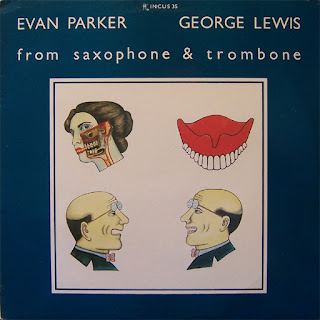 Evan Parker, George Lewis, From Saxophone and Trombone