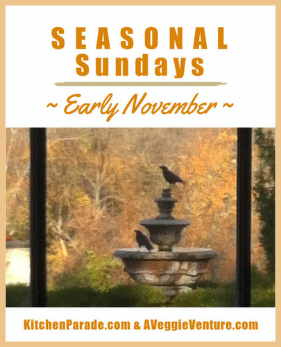 Seasonal Sundays ♥ KitchenParade.com, a seasonal collection of recipes and ideas for November, including Thanksgiving.
