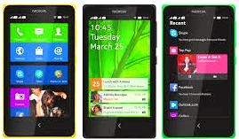 The new Nokia X models contains model of Nokia XX + Nokia X and Nokia XL.
