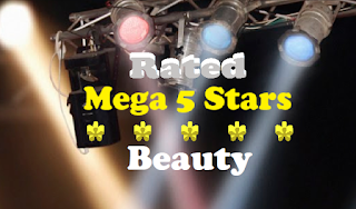 Rated 'Mega 5 Stars' Beauty
