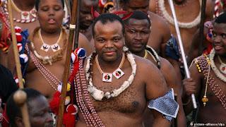 Mfalme Mswati Ameoa Mke wa Miaka 19 Na Kuwa Mke wa 14