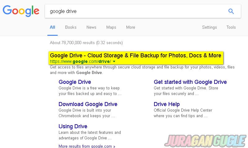 google drive site