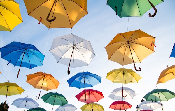 20 Best Samsung Galaxy S7 Edge HD Wallpapers 2. Colorful Umbrellas