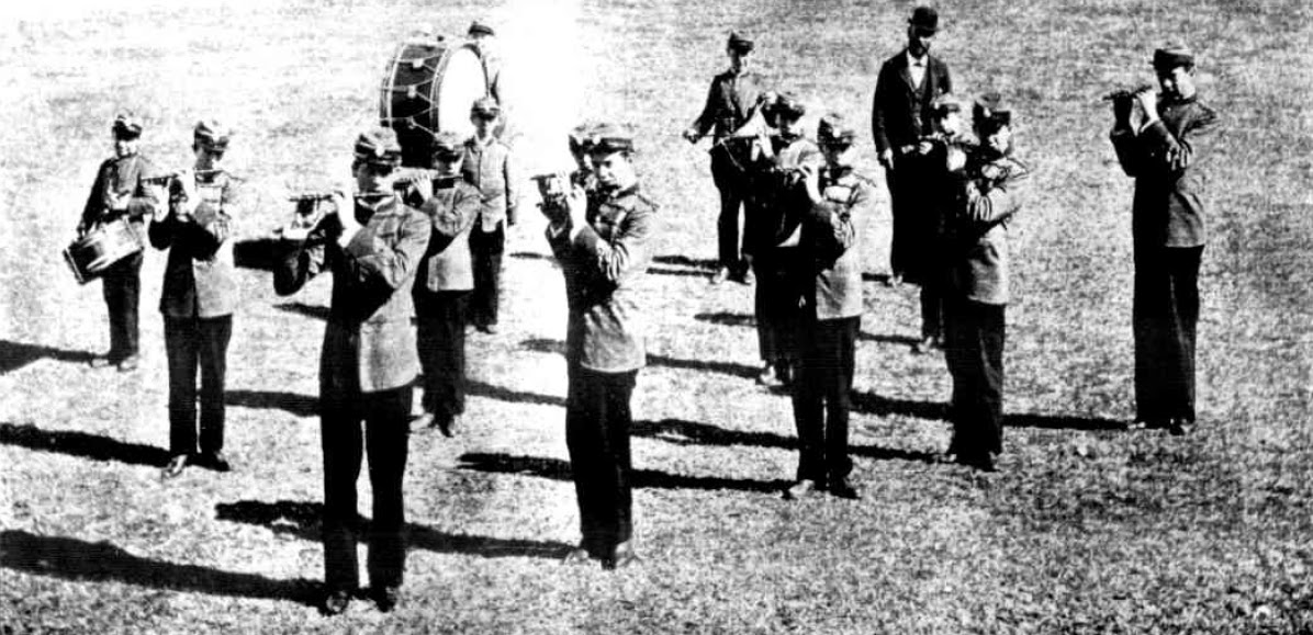1898 New South Wales Cadets: Band