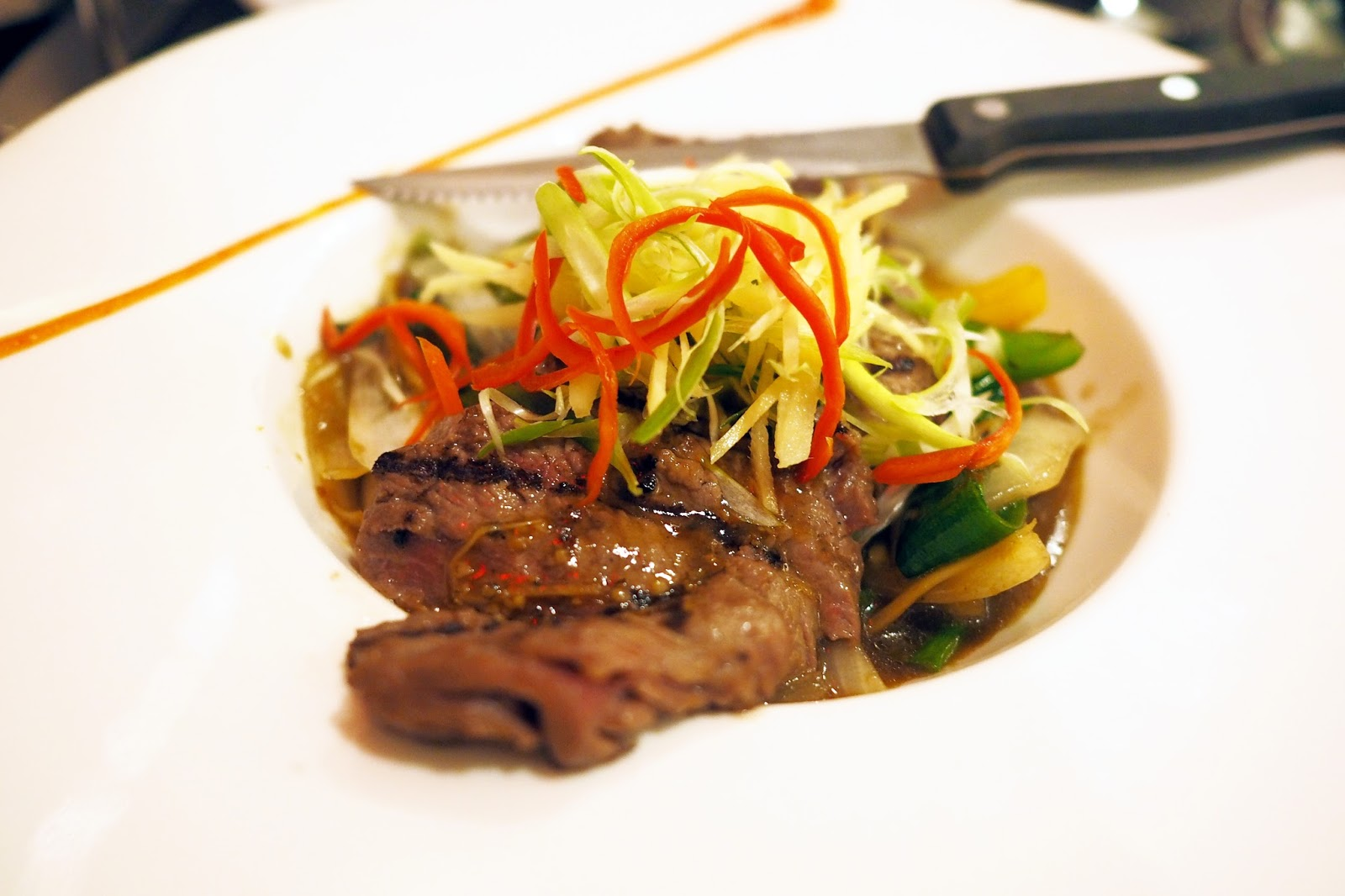 grilled sirloin beef