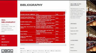 RDA Bibliography