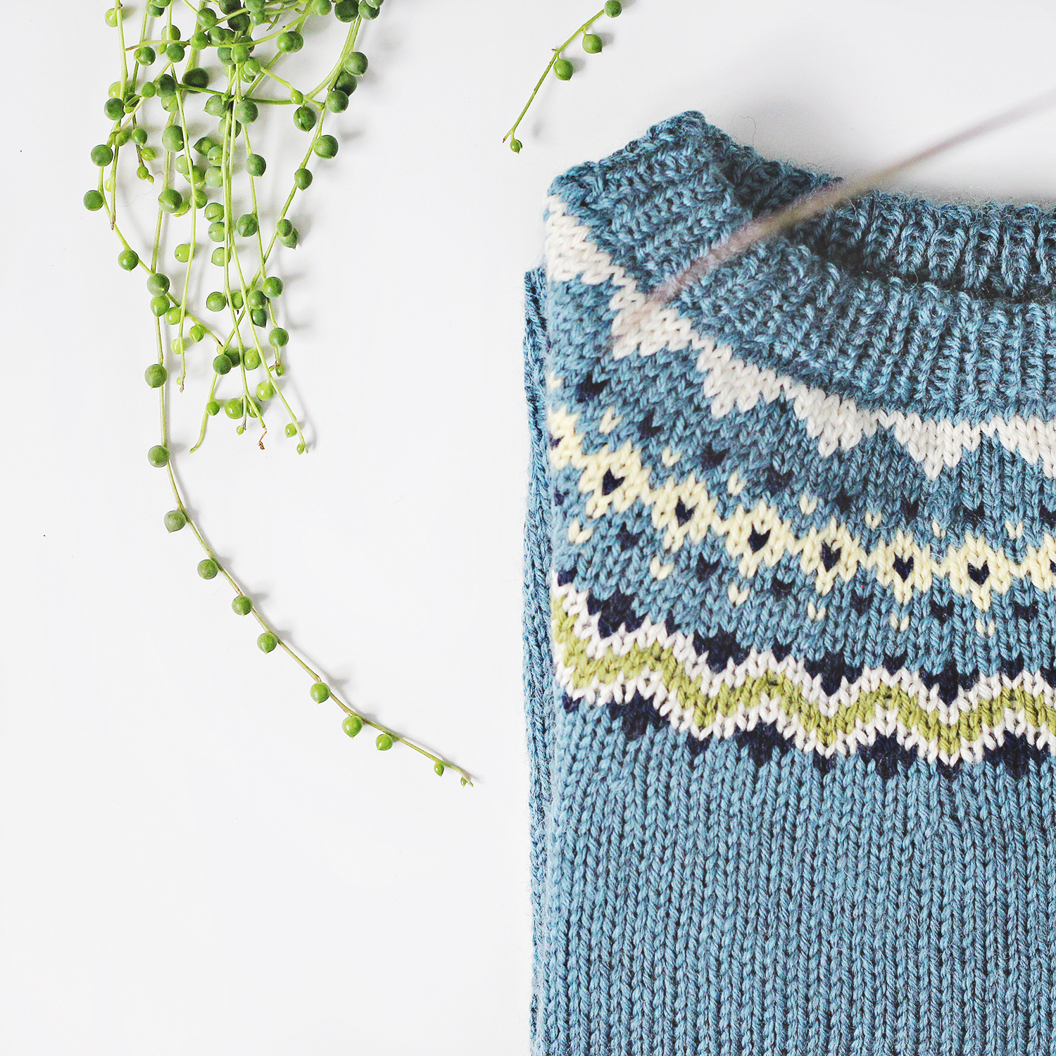 FO: The Dog Star Sweater (or how to knit a sweater in a week)