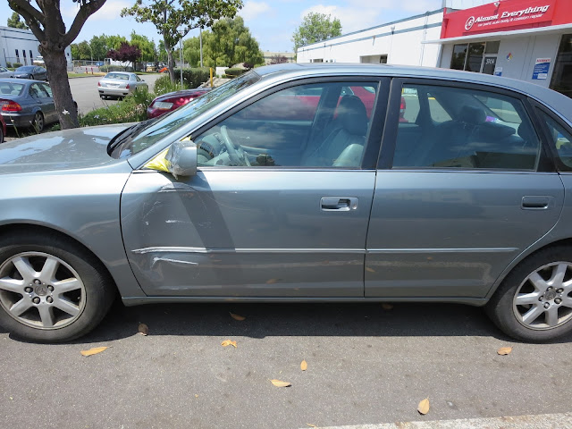 Collision repair on 2001 Toyota Avalon at Almost Everything Auto Body
