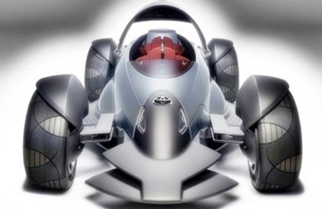 2018 Toyota MTRC Concept Car