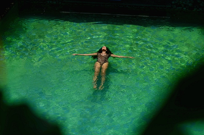 Bali, Aqua Octaviana Bali Villa, Leopard swimuit, Tamara Chloé