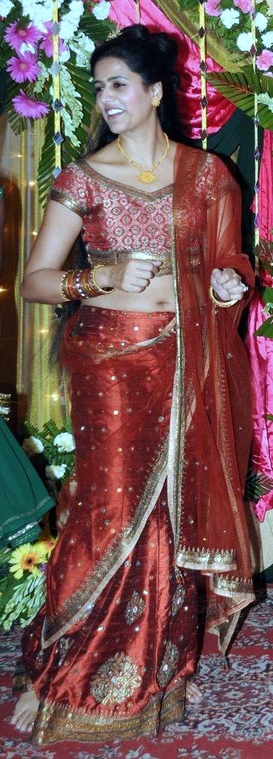Life Of Navel  Indian Girls Hot Saree Navels-1740