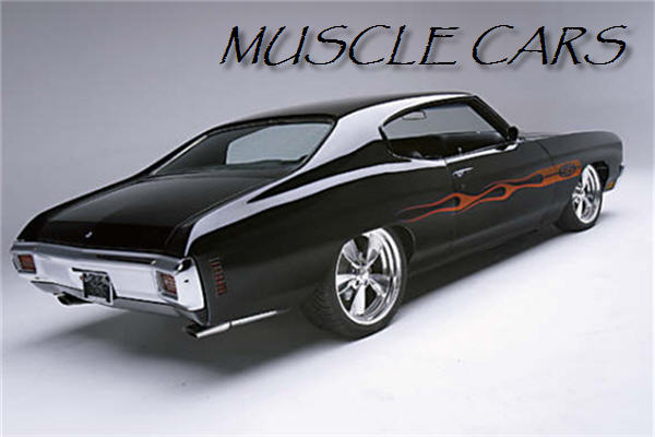 Cars Wallpapers And Pictures: Classic Muscle Cars Wallpaper