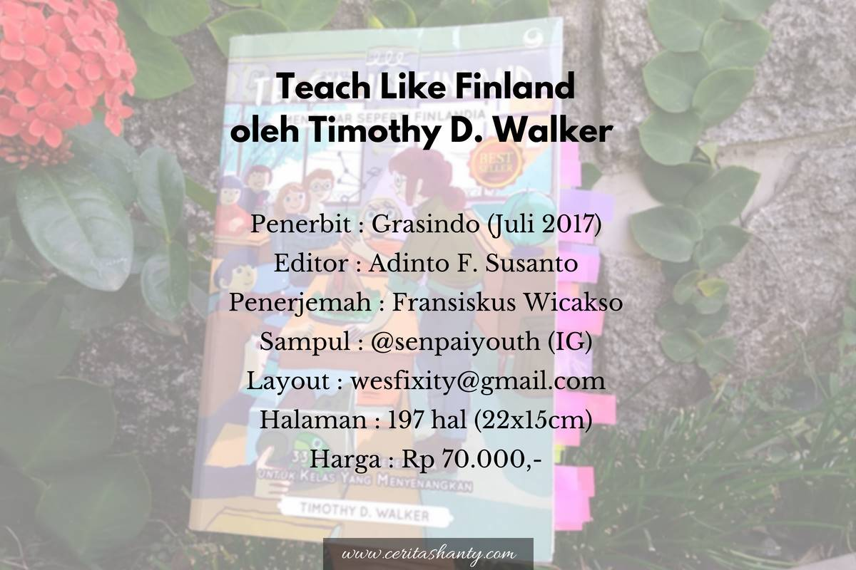 Data buku Teach Like Finland