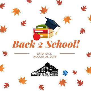 Eckley Back to School Program for Aug 25 2018