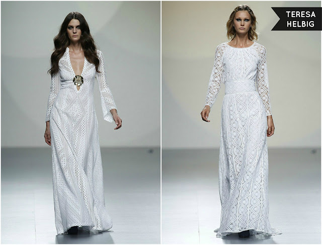 Madrid Fashion Week vestidos dresses