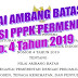 Nilai Ambang Batas SeleksI PPPK PERMENPAN No. 4 Tahun 2019