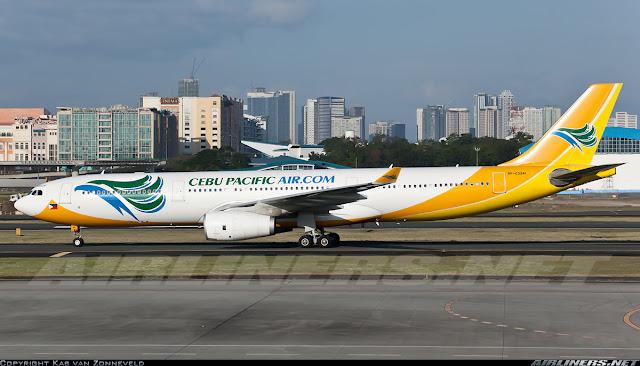 Cebu Pacifics Airbus A330 300 RP C3341