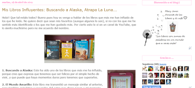 http://suenosdepapelynubesdetinta.blogspot.com.es/2015/04/mis-libros-influyentes-buscando-alaska.html