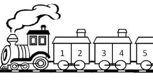 Tren Con Vagones Para Colorear Infantil Tren Vagones Colorear Buscar