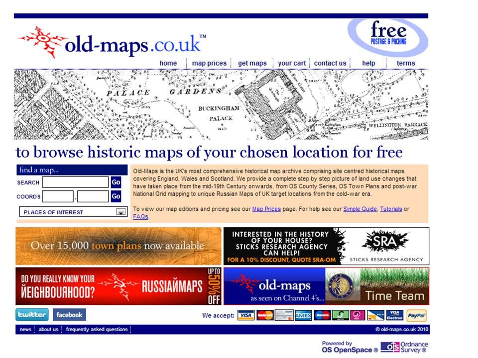 Nidderdale AONB Conservation Volunteers\' Blog: Historic Maps ...