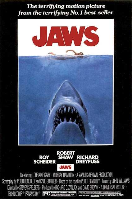 Póster original película Tiburón