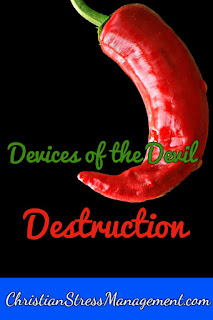 We Are Not Ignorant of the Devices of the Devil Destruction