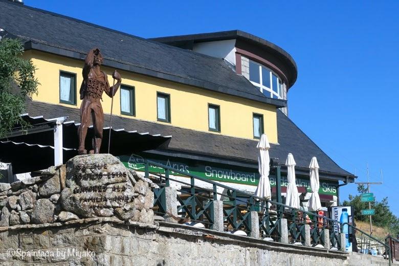 マドリード・ナバセラーダのカフェレストラン
