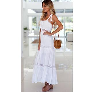 339f9312e kmepongo.com  Vestido - Blanco - Romántico