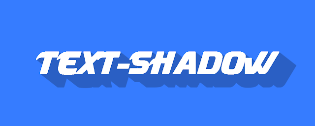 Cara Membuat Bayangan pada Teks dengan Effect Text-Shadow