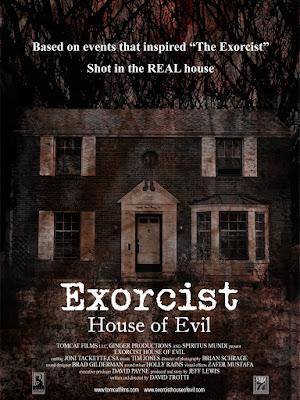 Exorcist House of Evil Poster