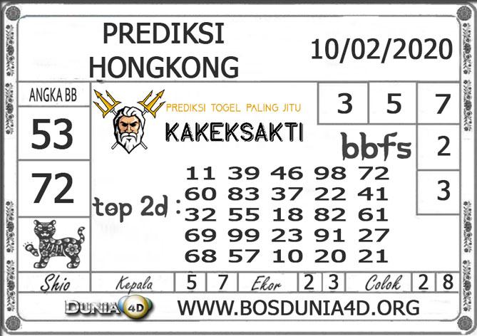 Prediksi Togel HONGKONG DUNIA4D 10  FEBRUARI 2020