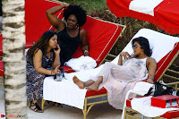Priyanka Chopra in Bikini at a el pool  22 ~  Exclusive.jpg