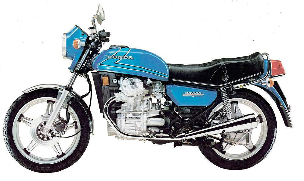 Honda CX500 Motorcycle 19781979 Complete Wiring Diagram