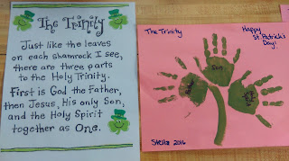 Celebrating The Real St. Patrick With Kids/ A little history lesson and art lesson wrapped into one! The real St. Patrick was a missionary in Ireland.