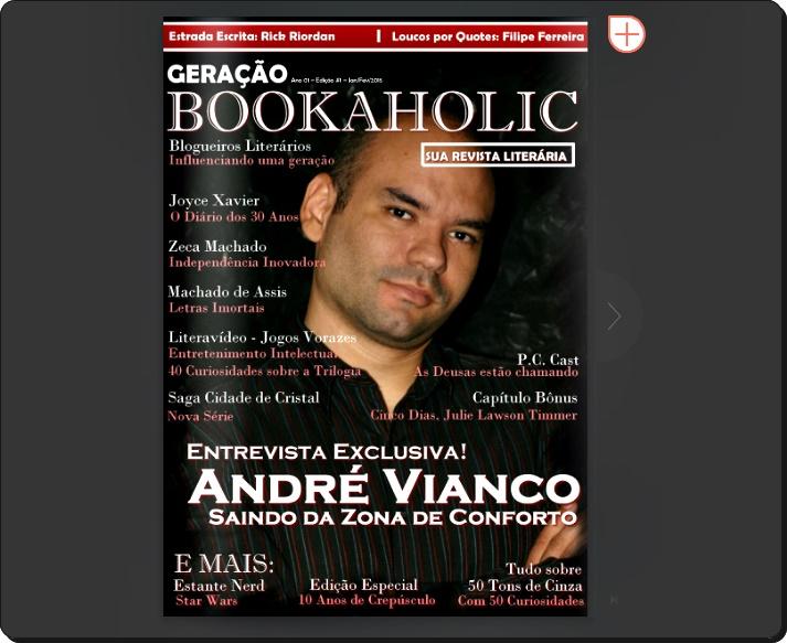 """Primeira edição 'Geração Bookaholic' com minha participação especial + Resenha de """"Através da Escuridão'' \o/"""
