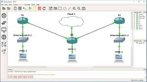 Download GNS3 (Graphic Network Simulator)
