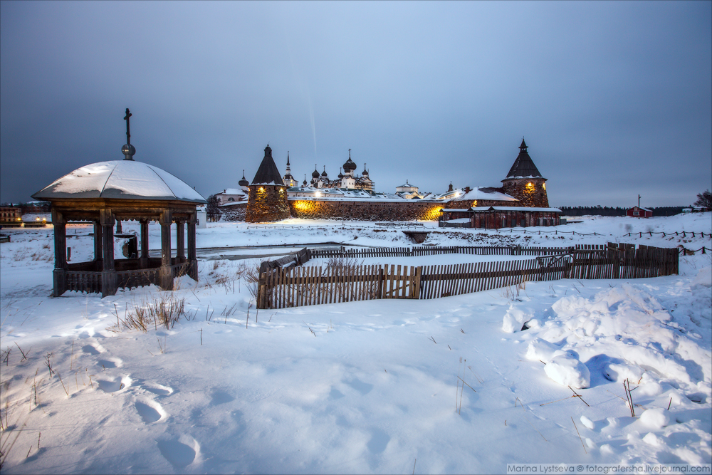 Зимняя сказка Соловков