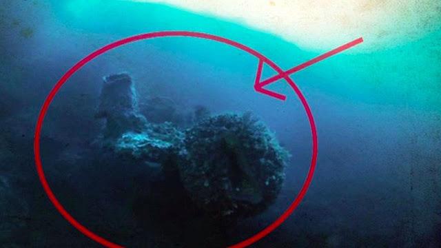 Pesawat Alien Ditemukan di Dasar Segitiga Bermuda, Begini Penampakannya