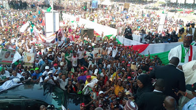 PDP Leaders Serve Buhari Quit Notice At Ilorin Rally