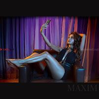 Shibani Dandekar Poshoot For Maxim India Magazine April 2017   2.jpg