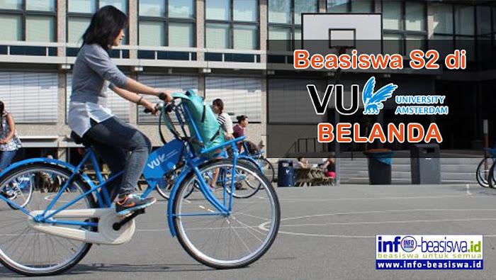 Beasiswa S2 (Master) dari Vrije Universiteit Amsterdam, Belanda