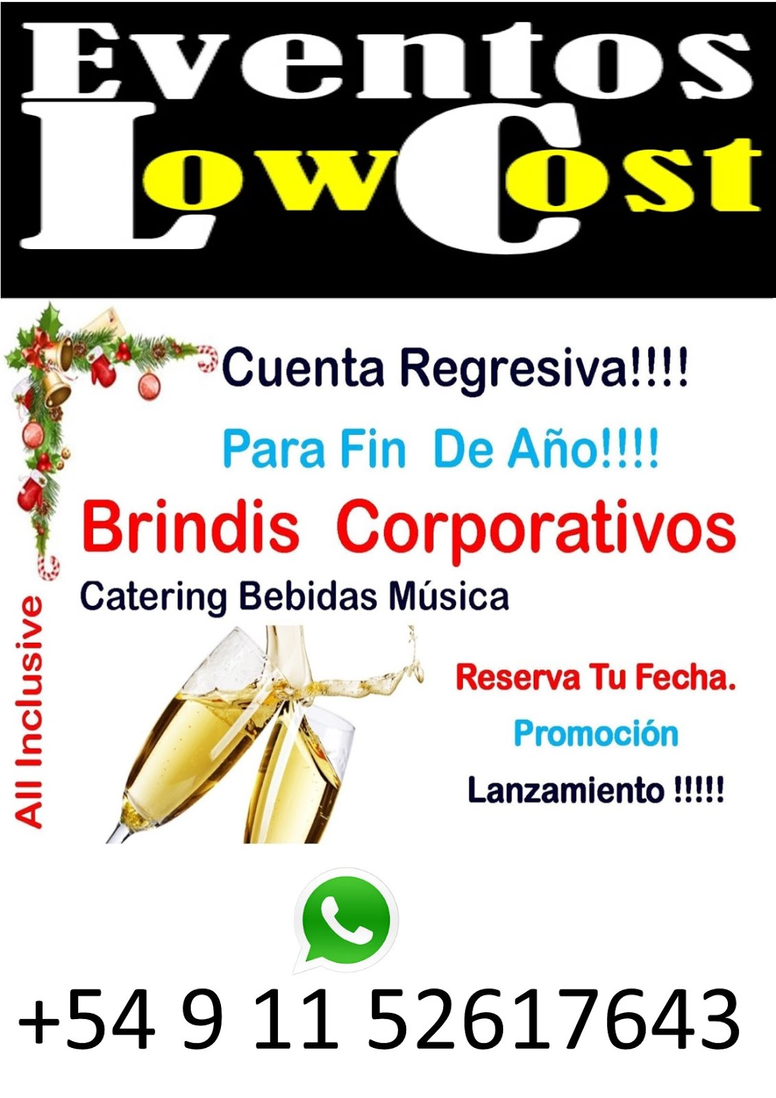 Eventos Low Cost