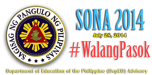 DepED ADVISORY: 32 Public Schools in Quezon City Classes Suspended on July 28, 2014 #walangpasok