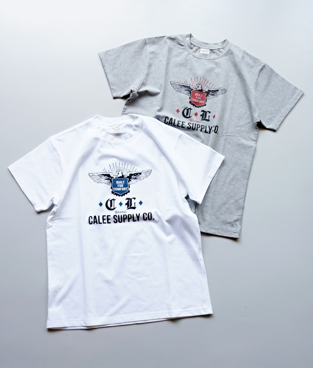CALEE/キャリー EAGLE EMBLEM T-SHIRT トランプススタッフブログ