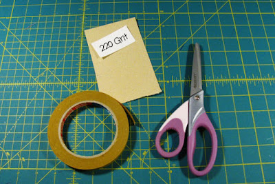 Supplies Needed to make Quilt Ruler Grips